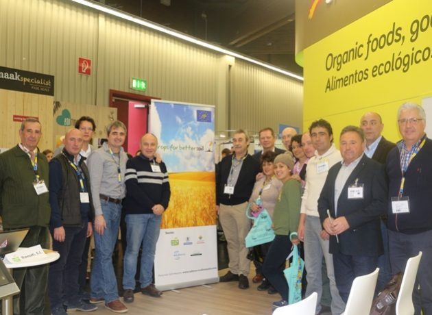 Promoting the final conference at Biofach for LIFE CROPS FOR BETTER SOIL