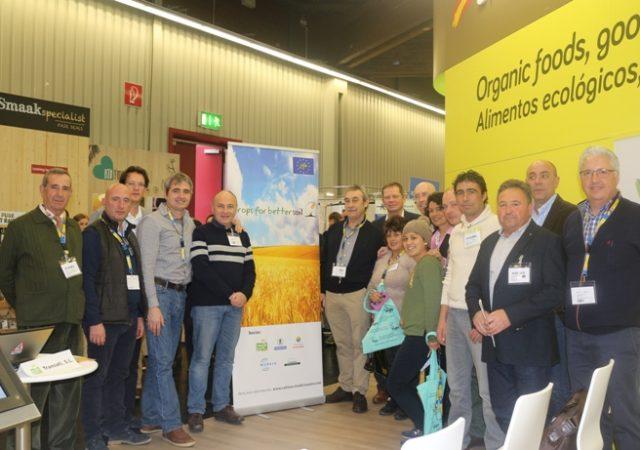 Transfer promueve CULTIVOS TRADICIONALES en la feria de BIOFACH, Alemania