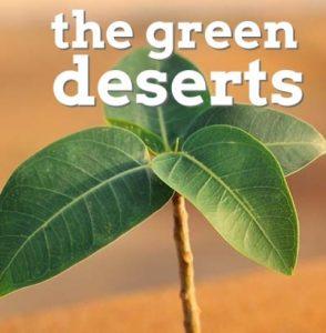 logo the green deserts