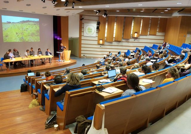 Transfer presents results of LIFE Operation CO2 at European Agroforestry Congress