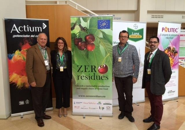 Transfer presents results of LIFE Zero Residues at Murcia Stone Fruit Congress