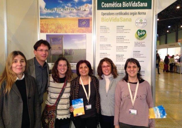 El equipo de Transfer visita Biocultura Sevilla para presentar el proyecto Cultivos Tradicionales