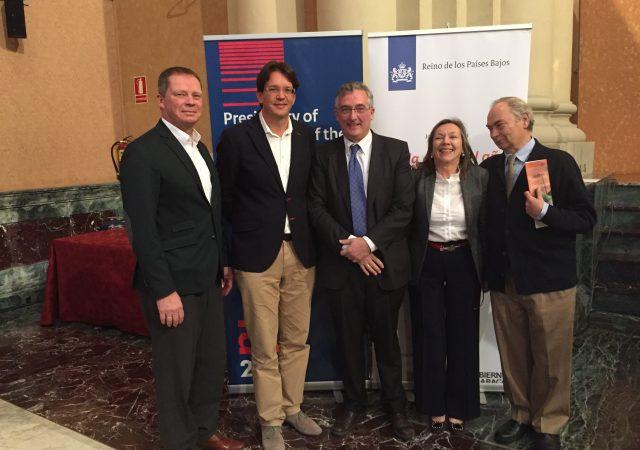 Invitación de la embajada holandesa a un seminario técnico en Zaragoza