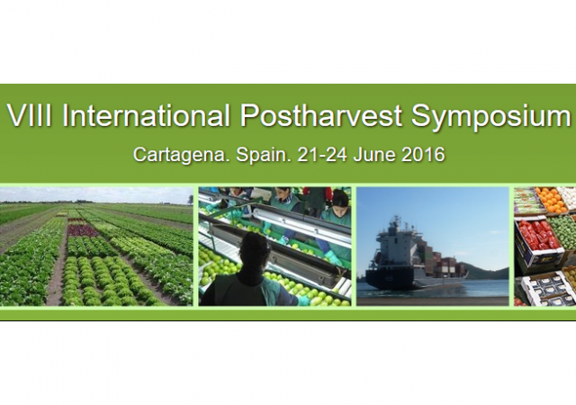 Transfer presents a paper in the VIII International Postharvest Symposium in Cartagena