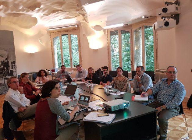 Transfer moderates Carbon Experts meeting at La Pedrera