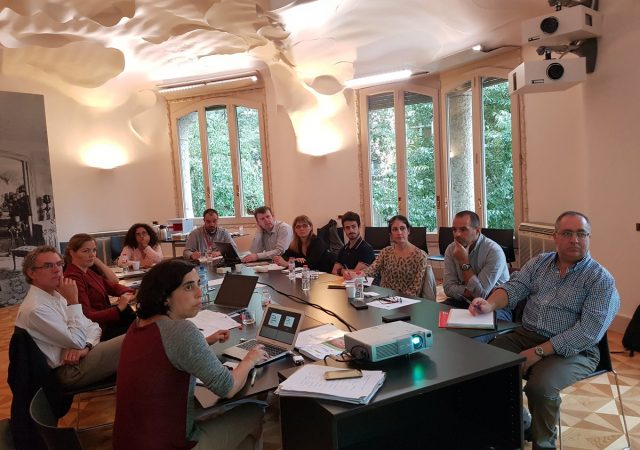 Transfer moderates Carbon Experts meeting at La Pedrera