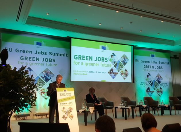Transfer visits the EU Green Week Summit