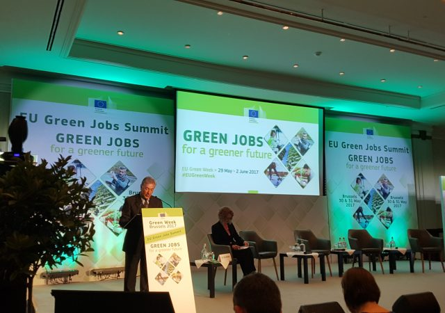 Transfer visits the EU Green Week Summit