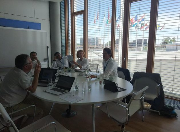 Transfer & Beral visit EIB to discuss potential for scale up After LIFE