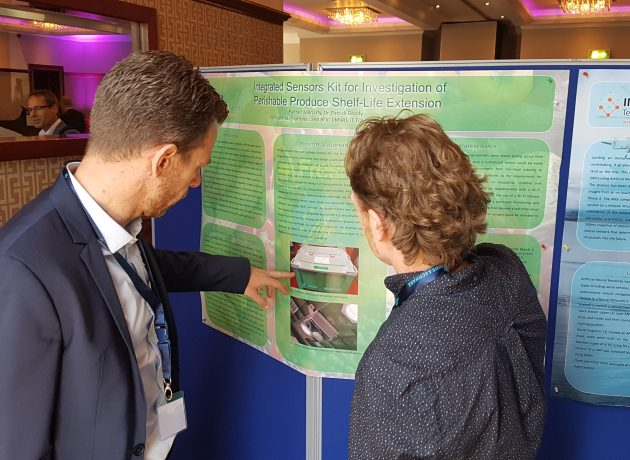 Freshbox gana el premio de mejor póster en la Conferencia ISSC