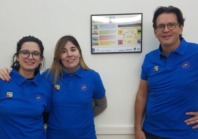 The polo t-shirts of the Smart Fertirrigation project are here